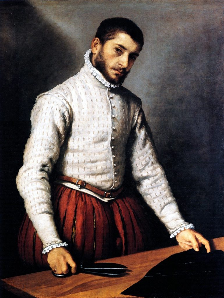 Giovanni Battista Moroni, Il sarto, Londra, National Gallery