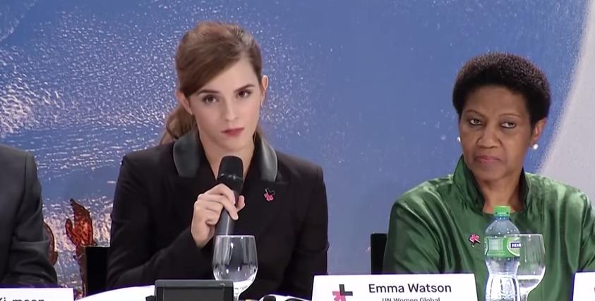 Emma watson parla della nuova iniziativa heforshe 10x10x10 for Chi fa le leggi in italia